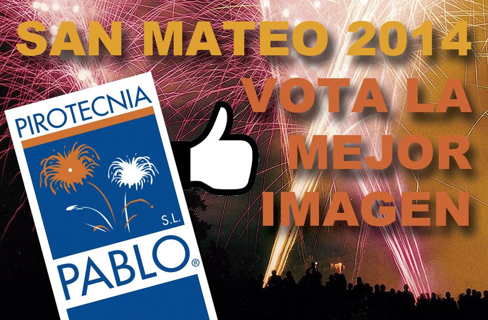 Concurso Fotográfico Fuegos Artificiales de San Mateo 2014, Oviedo, Pirotecnia Pablo